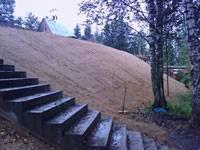 Типовые конструкции укрепления склонов